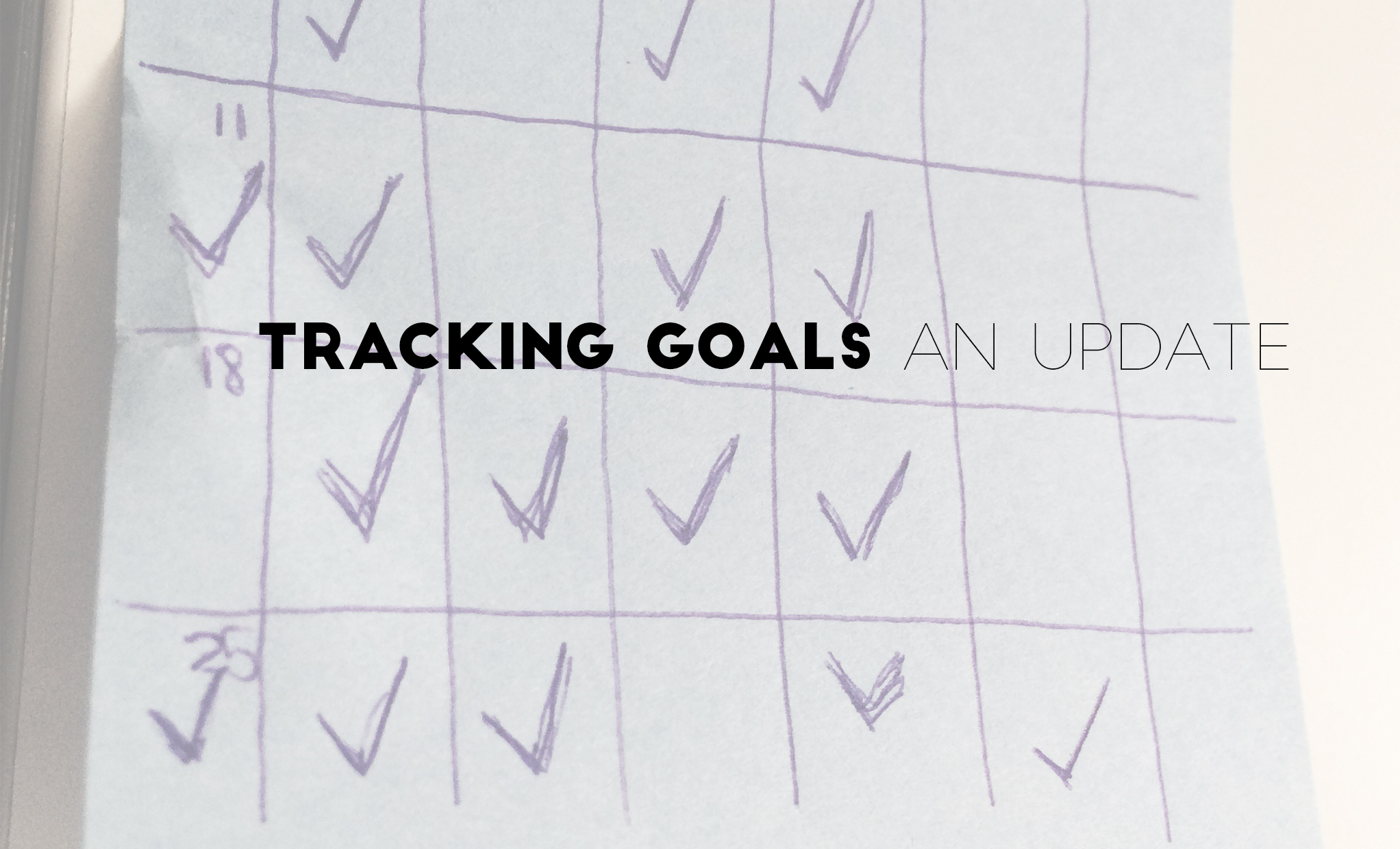 tracking goals